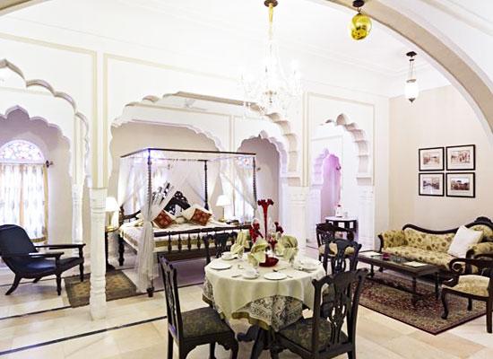 Alsisar Mahal Jhunjhunu, Rajasthan Indoor Restaurant