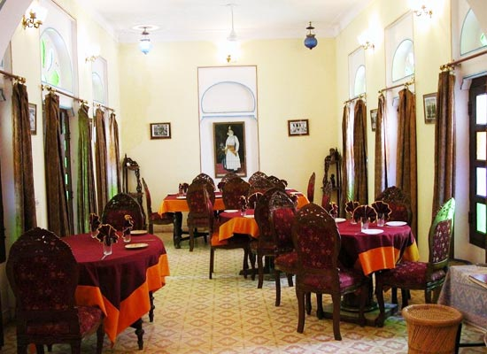 Bassi Fort Palace Chittorgarh Dining