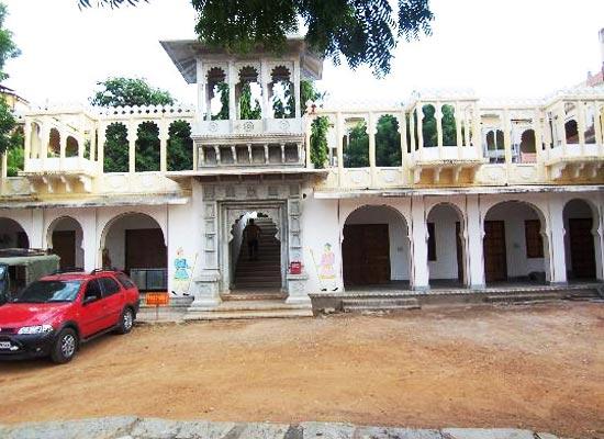 Bassi Fort Palace Chittorgarh Outside