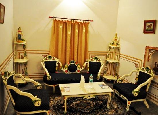 Bassi Fort Palace Chittorgarh Sitting