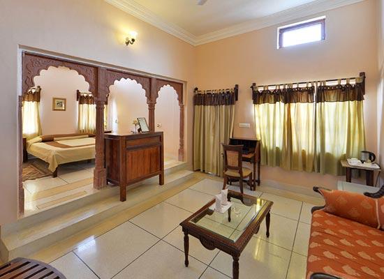 Castle Bijaipur room view