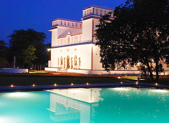 Bijay Niwas Palace Rajasthan Night View