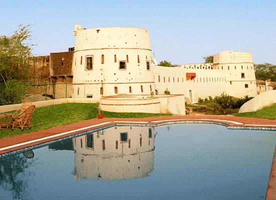 Swimming Pool at Pachewar Garh Tonk, Rajasthan