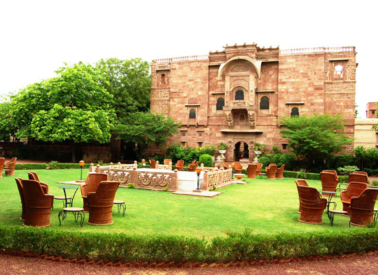 Fort Chanwa Jodhpur Outside View