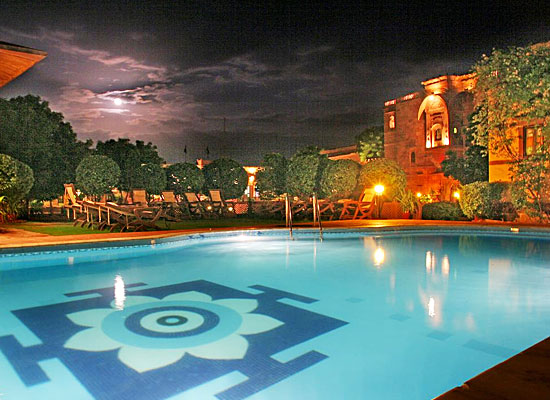 Fort Chanwa Jodhpur Swimming Pool