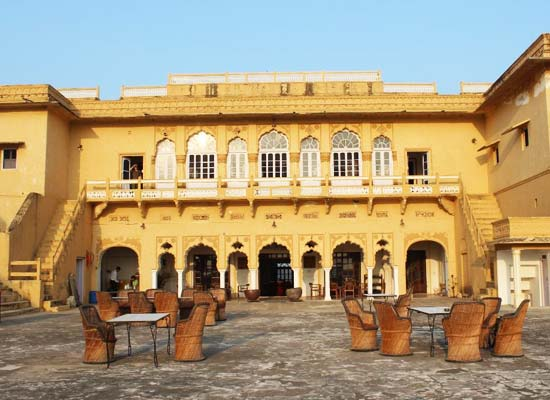 Roopangarh Fort ajmer facade