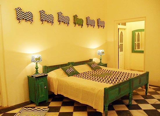 Rooms at Phool Mahal Palace Kishangarh, Rajasthan