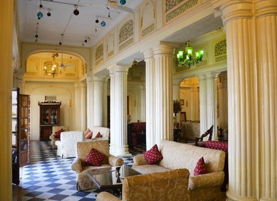 Sitting Area at Phool Mahal Palace Kishangarh, Rajasthan