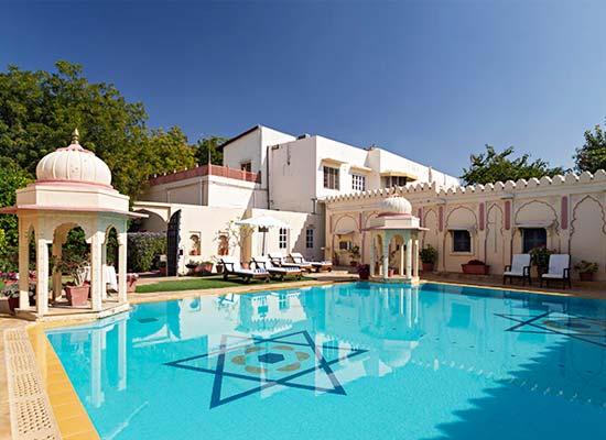 Rohet Garh Hotel Rohet, Rajasthan swimming pool