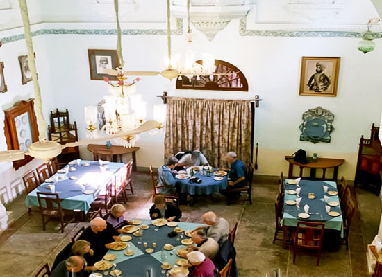 Fort Pokharan Jodhpur Dining Area