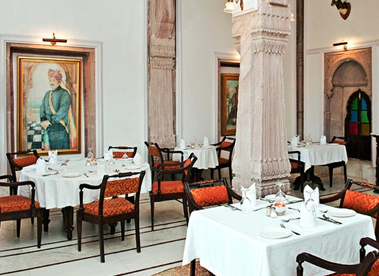 Balsamand Lake Palace Jodhpur Dining