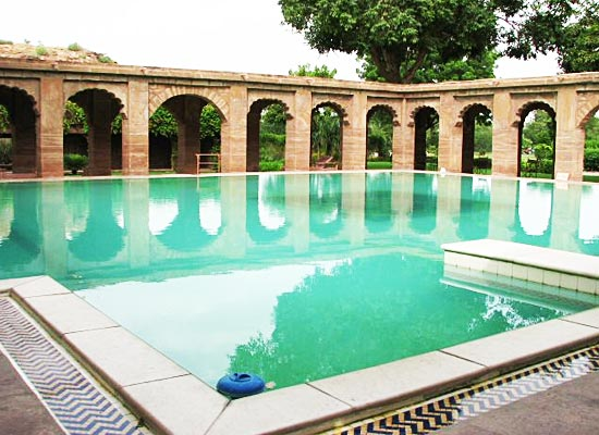 Balsamand Lake Palace Jodhpur Poolside
