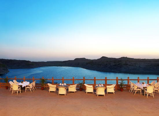 Balsamand Lake Palace Jodhpur Open Air Dining