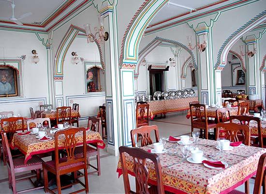 Nimaj Palace jodhpur dining area