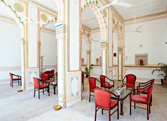 Nimaj Palace jodhpur sitting area