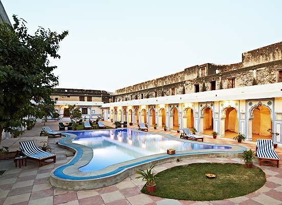 Nimaj Palace jodhpur poolside