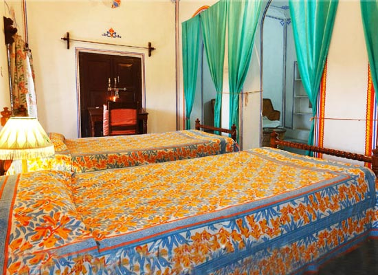 castle pachar shekhawati bedroom
