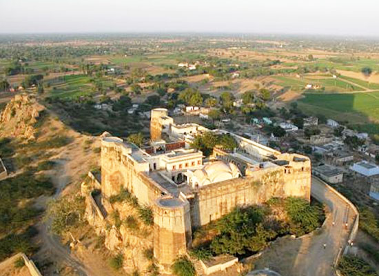 Fort Madhogarh Jaipur Outside View