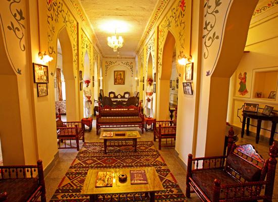Hotel Jhalamand Garh jodhpur hall