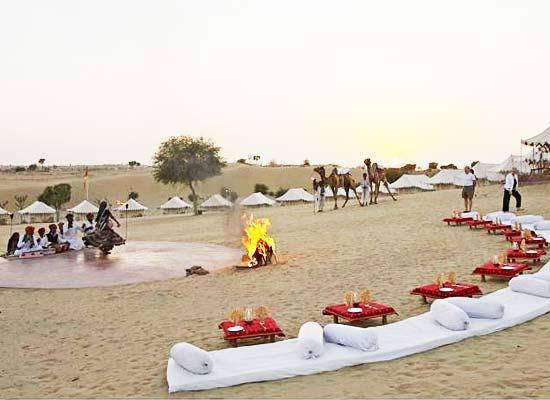 Manvar Desert Camp Jodhpur view