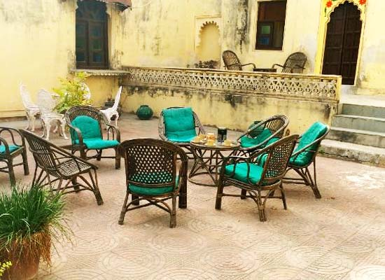 Ravla Khempur Udaipur Outdoor Sitting Area
