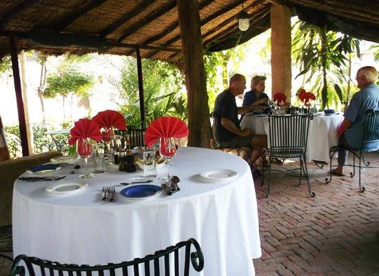 Ahilya Fort Maheshwar Dining