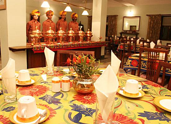 Hotel Karni Bhawan Jodhpur dining area