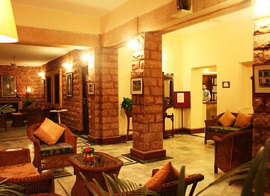 Hotel Karni Bhawan Jodhpur sitting area