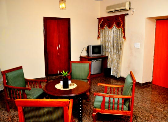 Sitting Area at Pallavi International Varanasi