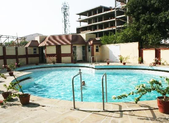 Swimming Pool at Pallavi International Varanasi