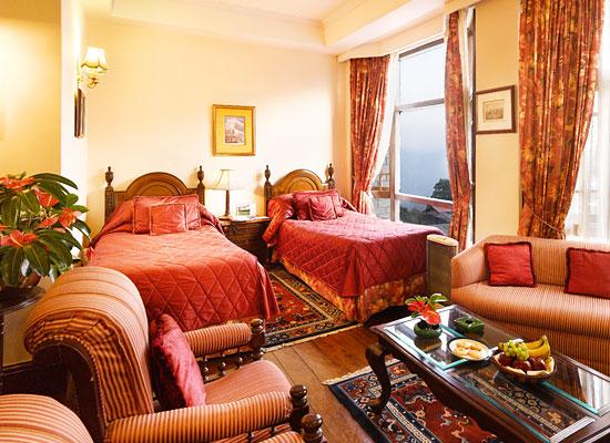 Hotel Silver Oaks kalimpong double bedroom