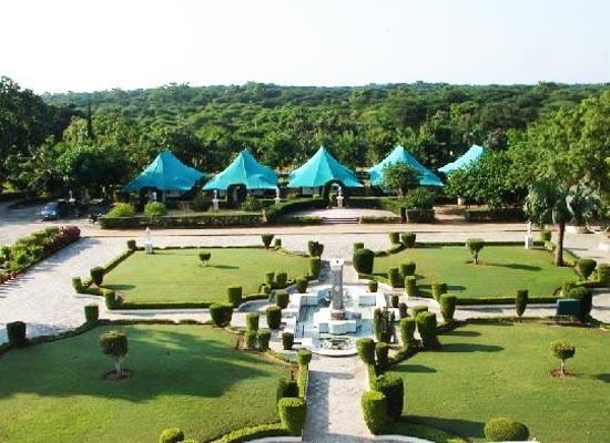Balaram Palace Resort Gujarat Garden