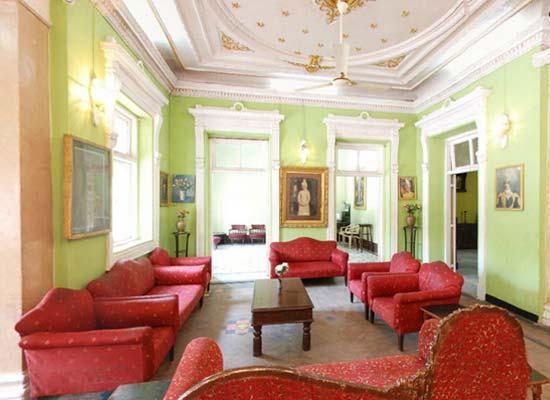 Sitting Area of Rajvant Palace Resort Rajpipla, Gujarat