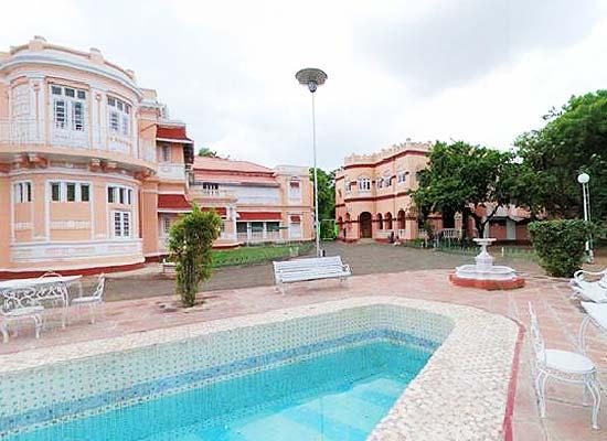 Swimming Pool at Rajvant Palace Resort Rajpipla, Gujarat