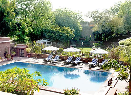 Hotel Ratan Vilas jodhpur pool