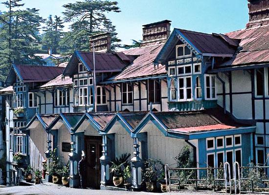 Clarkes Hotel shimla facade