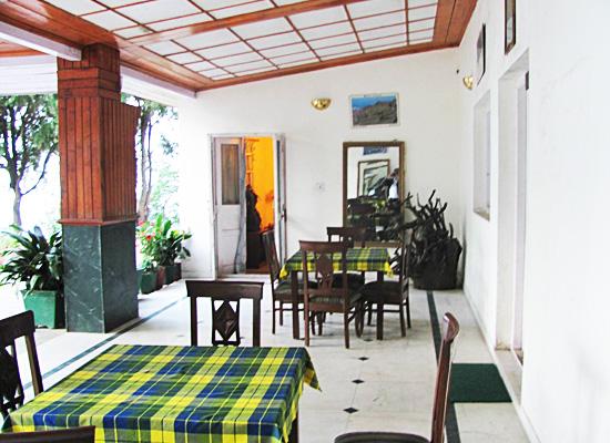 Hotel Ros Common kassauli dining area