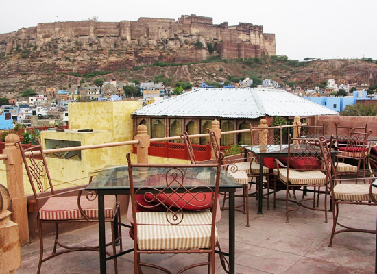Mehrangah Fort View from Pal Haveli Jodhpur