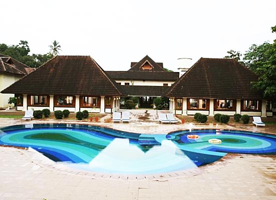 Bolgatty Palace Kerala Poolside