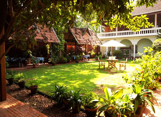 Fort Heritage Hotel Kochi Garden Area