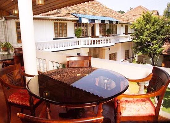 Fort Heritage Hotel Kochi Sitting Area