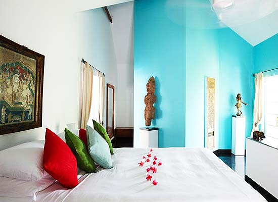 Malabar House Residency kochi bedroom