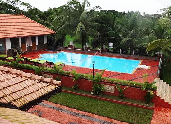 Swimming Pool at Taj Kumarakom Resort