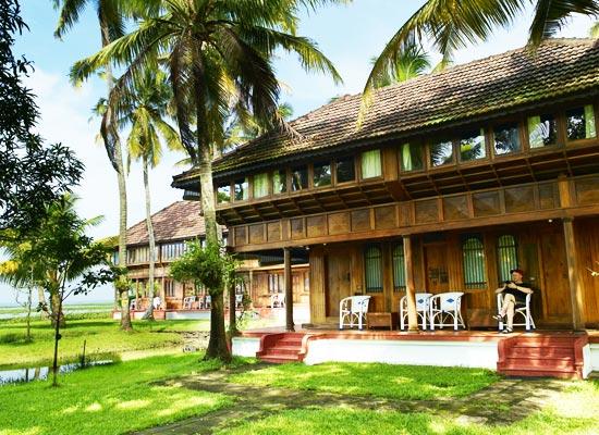 Coconut Lagoon Resort kumarakom facade