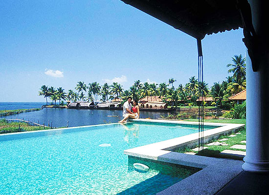 Kumarakom Lake Resort Kerala Swimming Pool