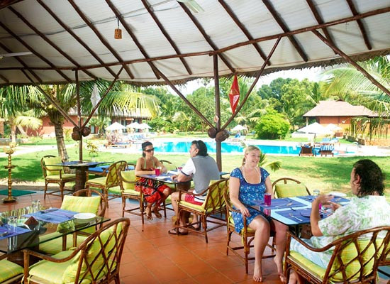 Dining at Poovar Island Resort Kerala