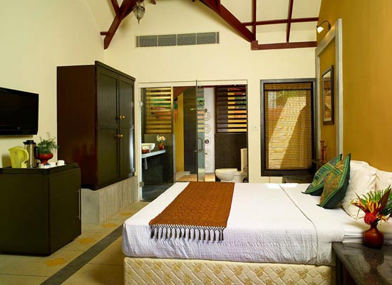 Rooms at Poovar Island Resort Kerala
