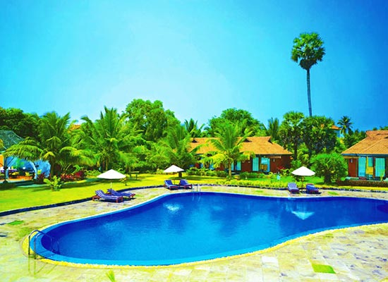 Swimming Pool at Poovar Island Resort Kerala