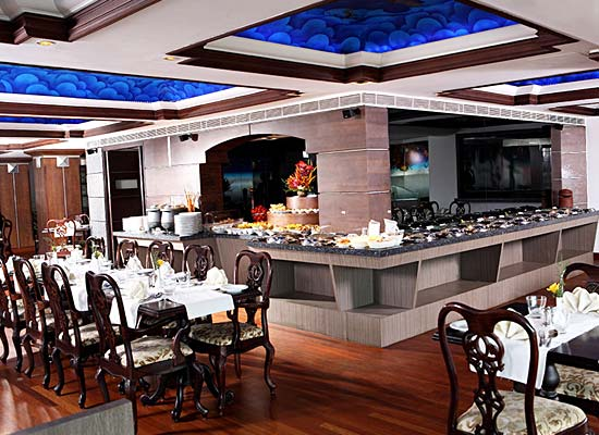 restaurant at Residency Tower Kerala