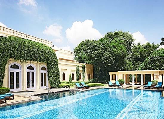 Swimming Pool at Rambagh Palace Jaipur
